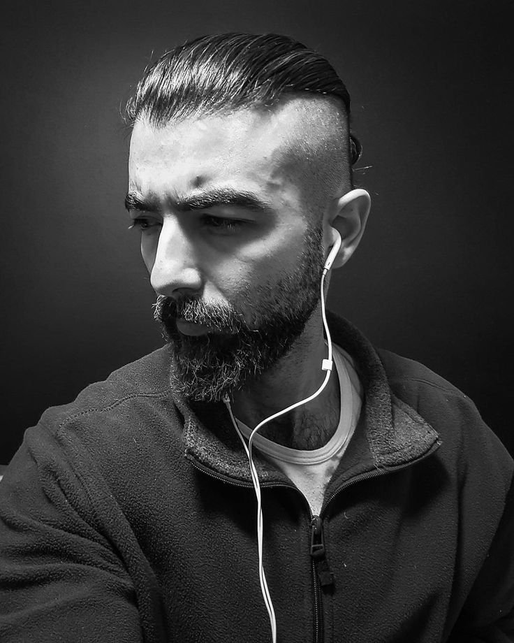 "98 Likes, 16 Comments - Amine sarieddine (@aminesdofficial) on Instagram: ""My viking in black nd white."" #beard #bearded #vikingmen #viking #menwithlonghair #guyshair #model"