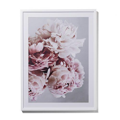 Photographic Floral Print Peony