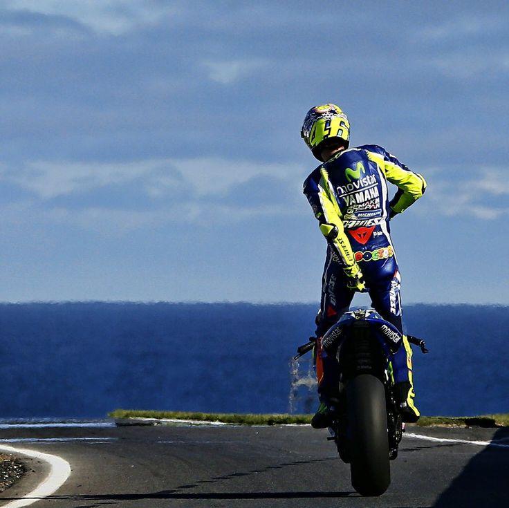 Classic Vale. ~~ Valentino Rossi (@ValeYellow46)