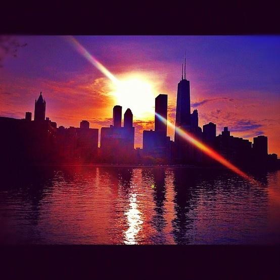 Chicago. (@Chi_City_Girl/Instagram)