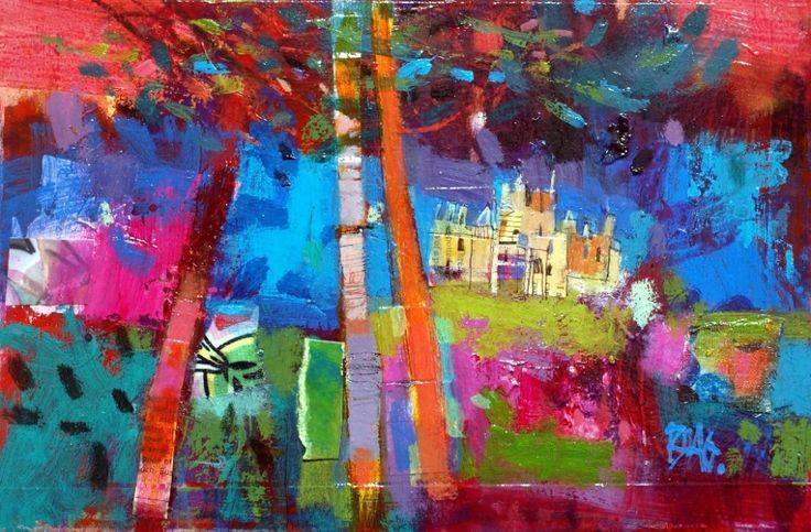 Francis Boag, Ury House Blues, Mixed Media | Scottish Contemporary Art
