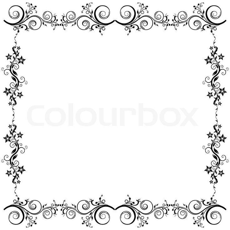 Illustration von floralen Vektor-Hintergrund auf isolierte Hintergrund | Stock-Vektor | Colourbox on Colourbox