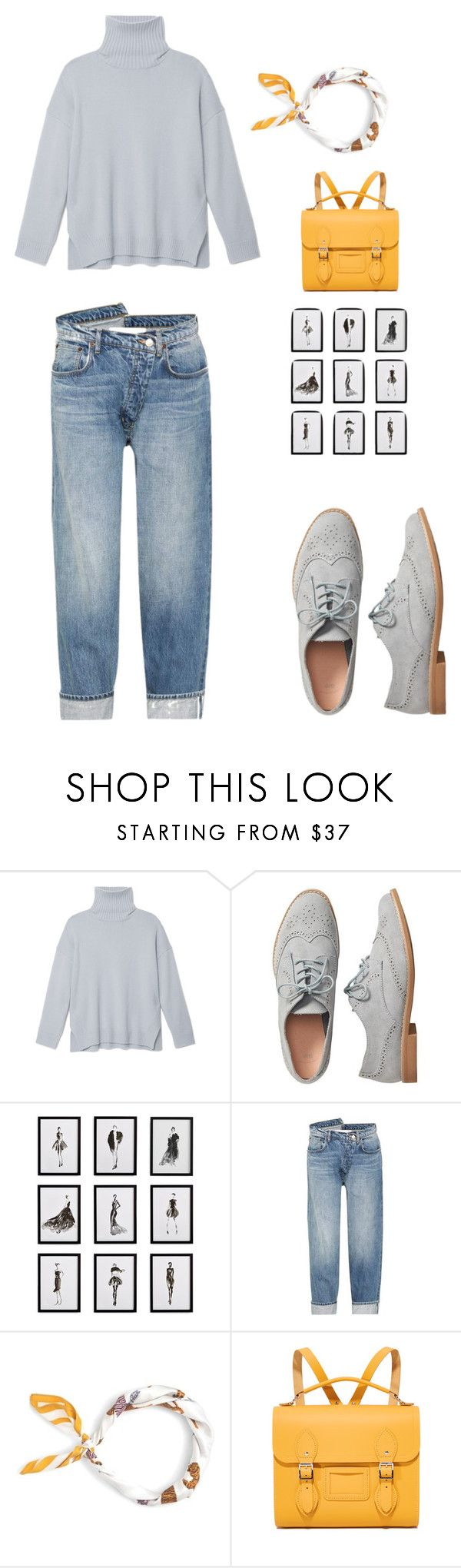 """everyday causal"" by janaya-08 on Polyvore featuring TIBI, Gap, Frontgate, Monse, J.Crew and The Cambridge Satchel Company"