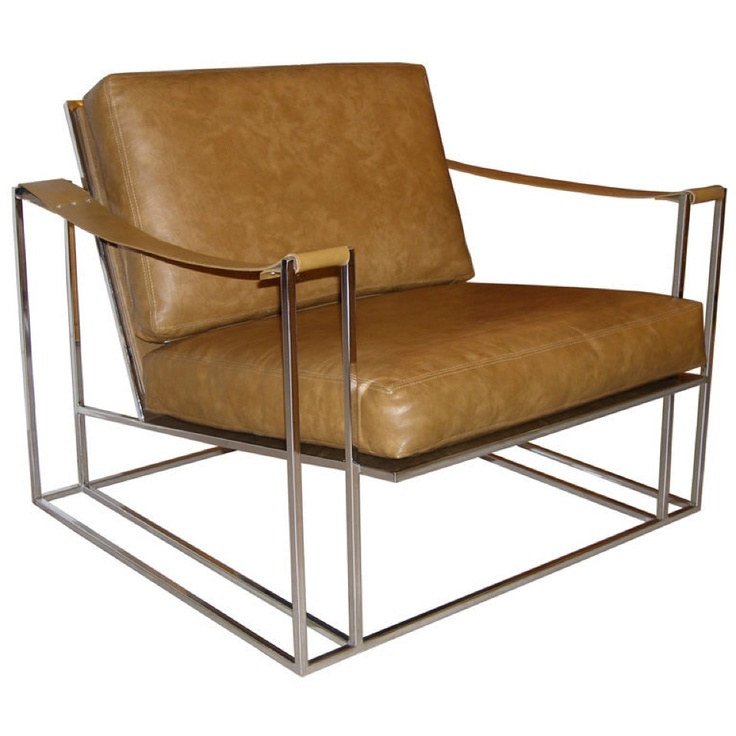 Craig Van Den Brulle Milo Baughman Polished Chrome And Leather Lounge Chair  Retail Price: Housing Works Price: Courtesy Of Foley U0026 Cox Interiors Inc