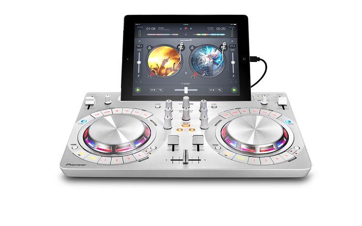 Contrôleur DDJ-WeGo3 pour mixer ses morceaux Spotify et Itunes depuis son iPhone, iPod, iPad, Pc, Mac - Pioneer