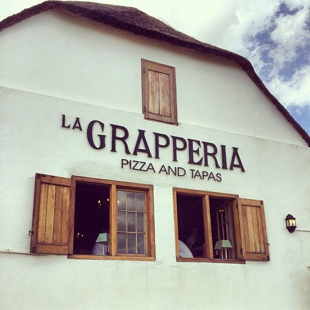 The place to be for pizza, grappa and tapas