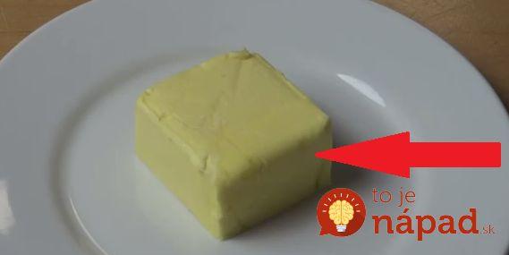 Maslo je skvelá surovina, no práca s ním - obzvlášť, keď ho vyberie priamo z chladničky - nie je vôbec jednoduchá. Zabudnite na zdĺhavé čakanie či mikrovlnku a použite tento jednoduchý trik! :-)