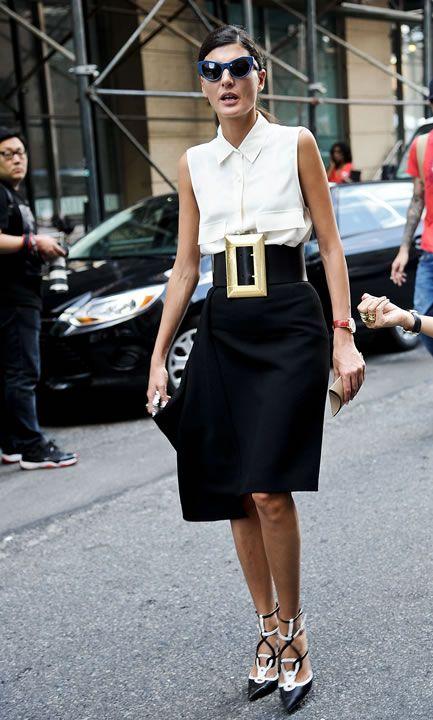 Look por look: El estilo de las editoras de moda en NYFW