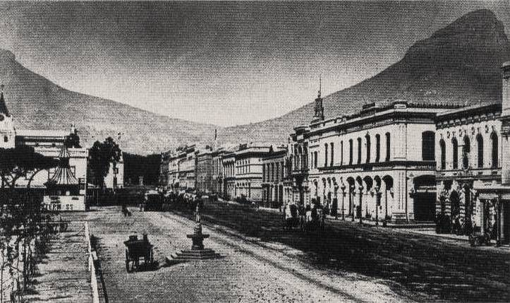 Cape Town Adderley Street Cape Colony 1870