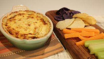Spicy Warm Blue Cheese Dip Recipe   The Chew - ABC.com