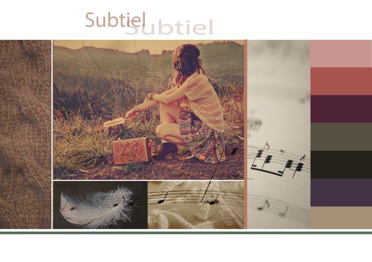 collage subtiel