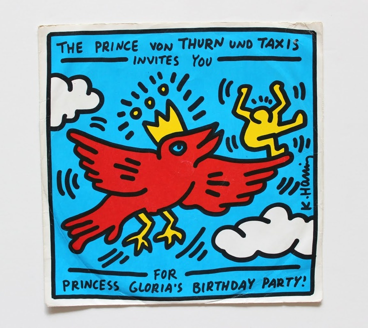 Images about keith haring album covers on