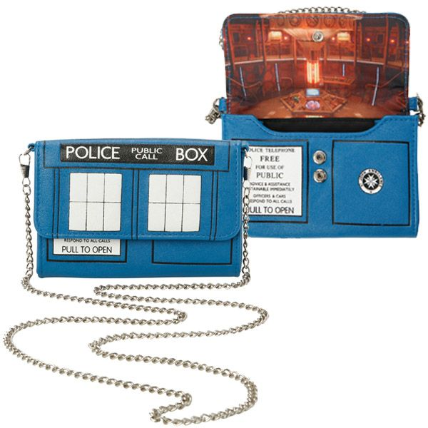I hope this Doctor Who TARDIS Crossbody Bag is bigger on the inside!