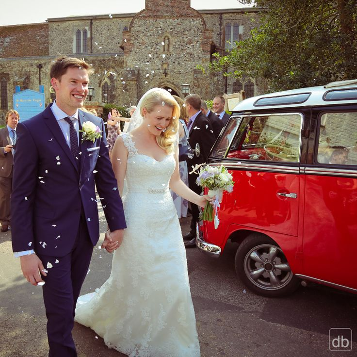 Self Drive Campervans... you'll have no problems getting an usher/best man to drive it and this will save you a fortune!