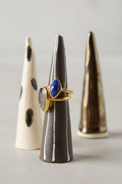 Ceramic Ring Cone - anthropologie.com #anthroregistry #bijoux #bijouxcreateur #jewelry