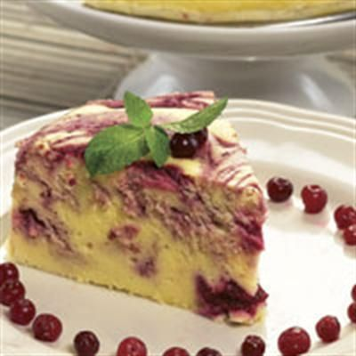 Cheesecake Cranberry Femina
