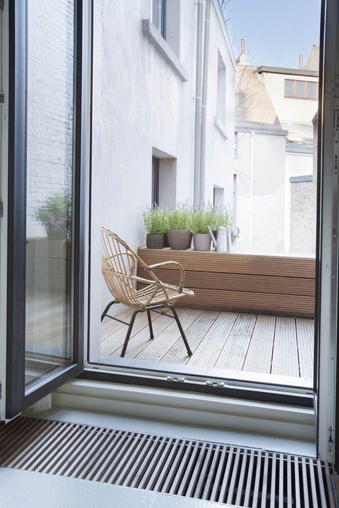 Balcon en bois très puriste #decosimple #puriste #balcon #bois
