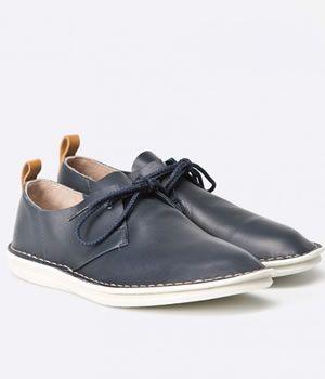 Pantofi Piele Casual Cu Siret Clarks