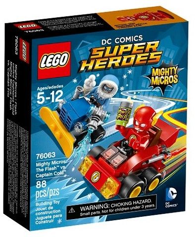 LEGO® Super Heroes Mighty Micros: The FlashTM vs. Captain Cold 76063