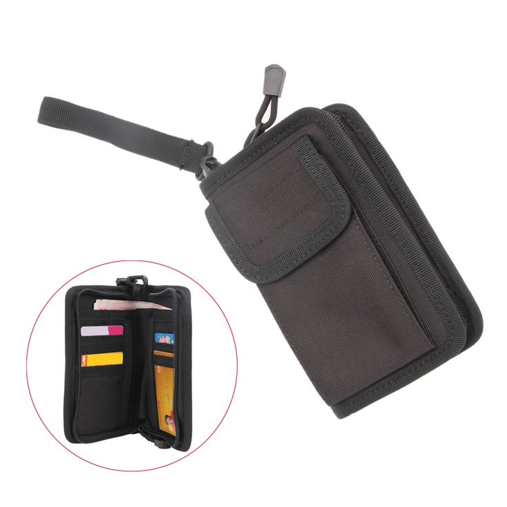 Universal Outdoor Waterproof Tactical Military Wallet Hiking Camping Card Key Phone Pouch Holder Bag Jogging Running Sports Bags