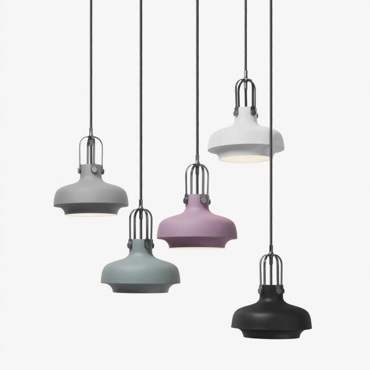 Copenhagen pendel. Smart lampe i industriel design, moderne lampe