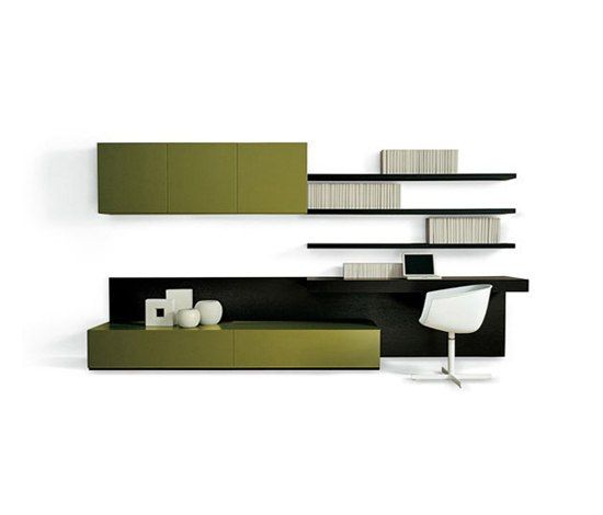 Wall storage systems | Storage-Shelving | Sintesi | Poliform. Check it out on Architonic