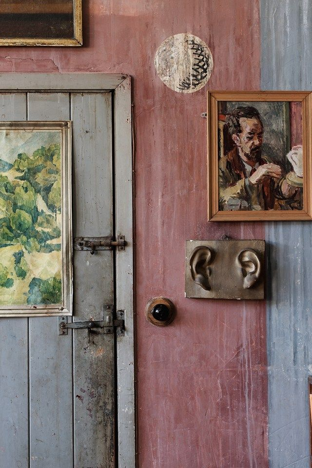 inside Charleston, Bloomsbury Group