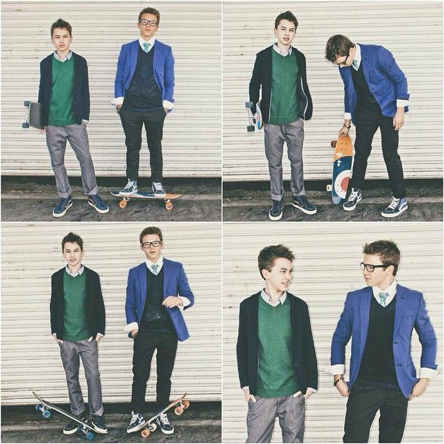 Jude and Connor From Freeform original TV show ''The Fosters''
