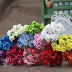 Новые импортированные материал для поделок ручной работы искусства реквизит свадебные фотографии мини-красные розы цветы Выгодная