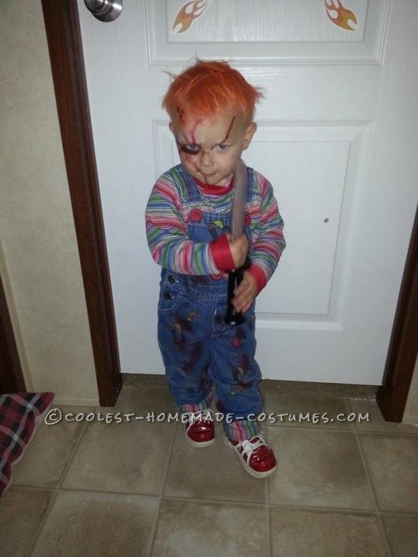 Chucky Toddler Costume – the Beginning, When He Was Two Years Old