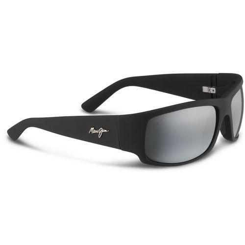 Maui Jim Men's World Cup Polarized Sunglasses Black/Charcoal - Case Sunglasses at Academy Sports