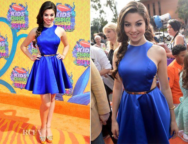 Kira Kosarin In Peggy Hartanto - Nickelodeon Kids' Choice Awards 2014