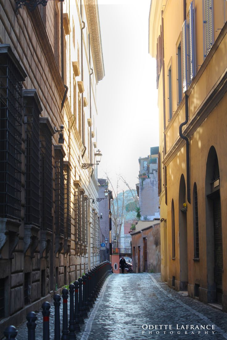 """""""Rome at its best"""", Digital Photography  (near Piazza Farnese, in Rome), Odette Lafrance"""