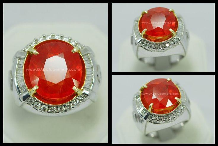 Batu Mulia Padparadscha Sapphire - PP 005 Sertifikat HGT + Sertifikat BIG