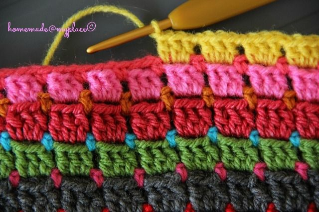 Since last Sunday evening (5th of May), I'm working on a new big project...   ....a BLANKET !!!!!!                     It all started becaus...