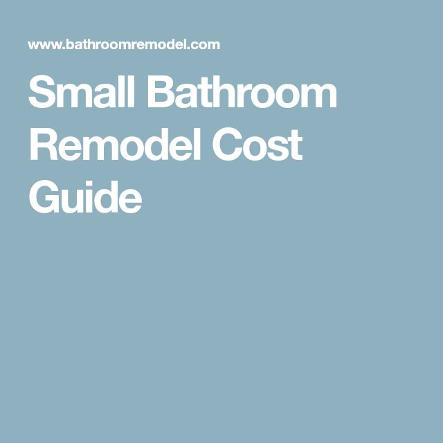 Best 25 bathroom remodel cost ideas on pinterest Average cost for small bathroom remodel