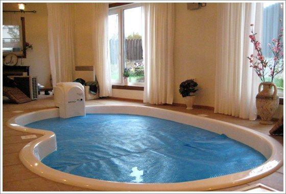 15 melhores imagens de piscinas no pinterest areas - Piscinas interiores pequenas ...