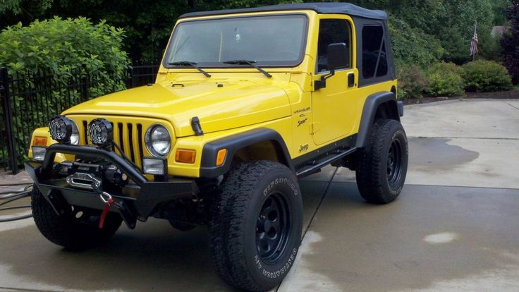 yellow jeep wrangler tj - Yahoo Image Search results