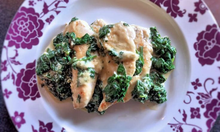 Chicken Fiorentina, or petto di pollo alla fiorentina. Chicken Florentine style is an easy and incredibly tasty dish, ready in minutes. This recipe for chicken Fiorentina is with fresh spinach. Chicken is great paired with spinach, but the dish works well for fish or veal as well.