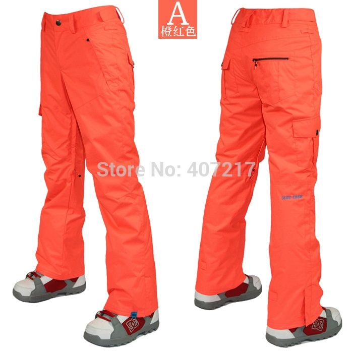 69.92$  Watch here - http://aliotg.worldwells.pw/go.php?t=32233972132 - 2014 womens orange red ski pants ladies snowboarding pants outdoor sports trousers snow pants waterproof 10K super warm 69.92$