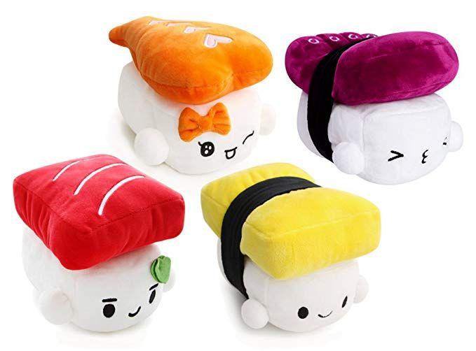 寿司枕 Sushi Pillow Sushi Fisch Kissen Sushi