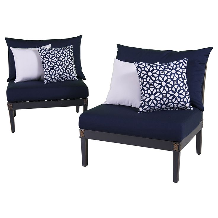 Create the patio of your dreams starting with the Astoria Armless Chairs $1 6