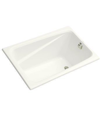 "Greek® 4' bath  48""L x 32""W x 23-3/8""H  Drop-in or three-wall alcove installation  Designed for one-person bathing  $1,629"