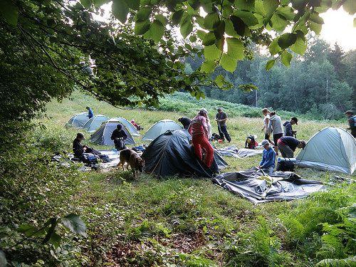 Biwak w terenie. Kolonie w górach. Hotel Odys www.hotelodys.pl #kolonie #hotel #odys
