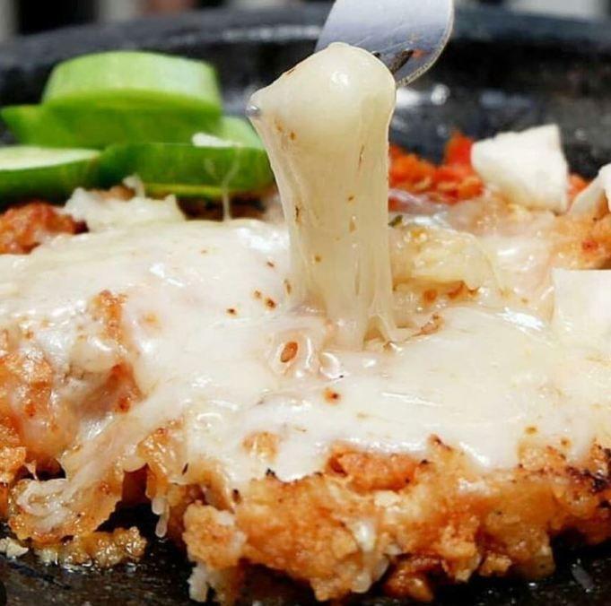 Resep Ayam Geprek Mozzarella Resep Ayam Resep Makanan Resep Masakan