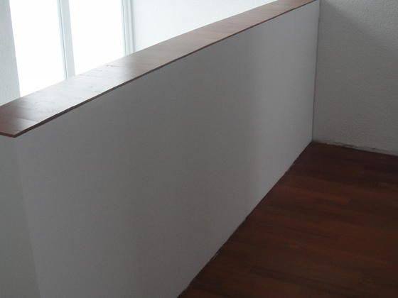 Altes Geländer mit Fermacell-Platten verkleiden Bauanleitung zum selber bauen Selber machen