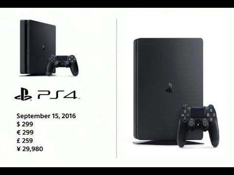 PS4 SLIM Release Date, Price & HDR Support Revealed