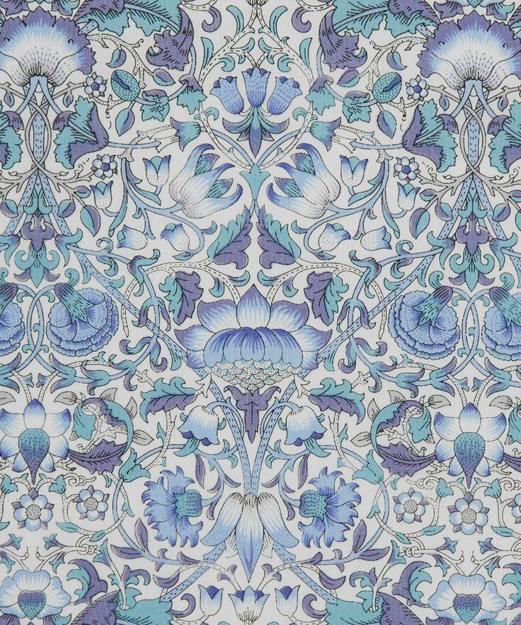 Liberty Art Fabrics Lodden E Tana Lawn Cotton | Fabric | Liberty.co.uk