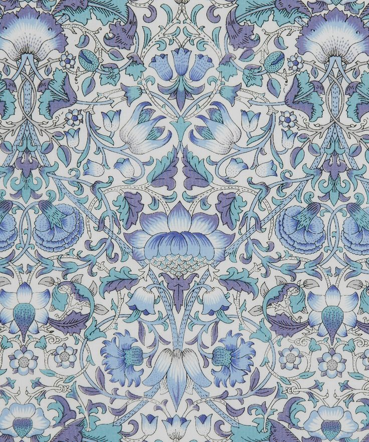 Liberty Art Fabrics Lodden E Tana Lawn Cotton | Fabric | Liberty.co.uk