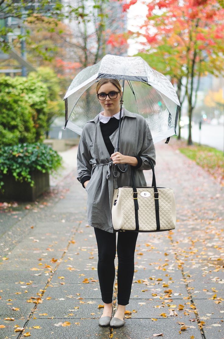 Best 32 Rainy Day Outfits Images On Pinterest | Womenu0026#39;s Fashion | Metal Buttons Rain And Boots